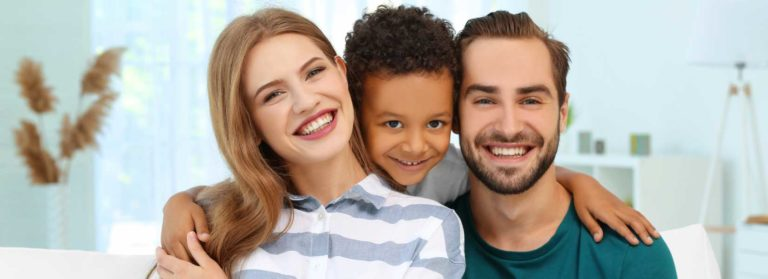 Family happy to hear about the National Adoption Month